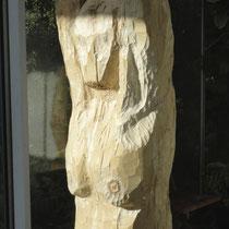 Detail Holzskulptur