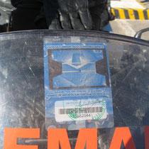 Motorradpermit für Mexiko