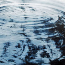 Circles No5., 2017, Öl auf Leinwand, 180 x 110 cm, *