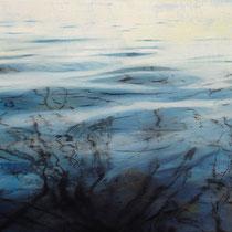 Spiegelung, 2009, Öl auf Leniwand, 60 x 70 cm