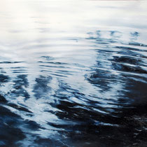 Circles No. 3, 2017, Öl auf Leinwand, 70 x 90 cm,