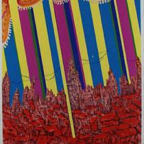 Madrid  リトグラフ、シルクスクリーン  71×51