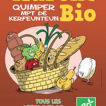 Affiche - Association commerçants Quimper
