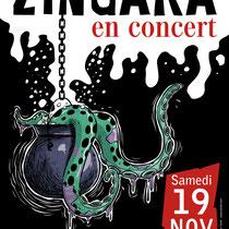 Affiche promotionnelle - Zingara