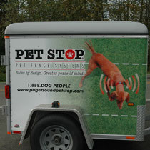 Full Service, Professional Dog fence Company - to meet the needs of all Western Washington Electronic, Invisible, Hidden pet fence customers.