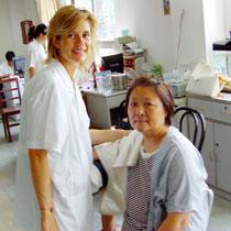 Stage à Shanghaï, hôpital Long Hua avec le professeur Chen