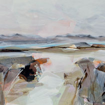 open way - acryl auf leinwand, H 100 x B 180 cm