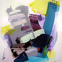 living II - acryl auf leinwand,  H 140 x B 110 cm