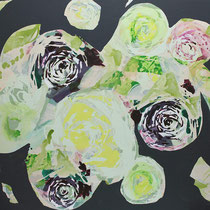 beet - acryl auf leinwand, H 120 x B 160 cm