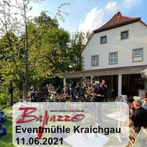 Öffentliche Probe in der Eventmühle Kraichgau am 11.06.2021