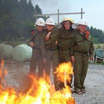 Feuerlöscherübung 2012
