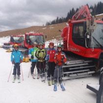 Skitag auf der Gerlitzen Winter 2011