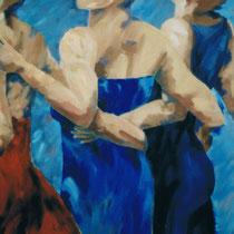 Starke Frauen - 1999 - Öl / Lw -120 x 200 cm