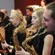 Saxos im Konzerteinsatz