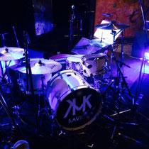 カフカさんのドラムセット
