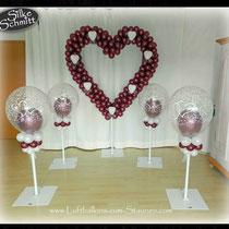 Spalierballon Hochzeit