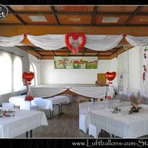 Hochzeits-Dekoration Gossmannsdorf