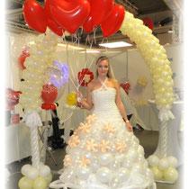Hochzeitsmesse TRAUMHOCHZEIT in Würzburg Ballonkleid