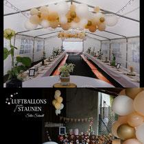 Luftballon-Dekoration Hochzeit Birkenfeld