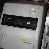 Chaudière fioul condensation ROTEX A1 Bo 27 kW, avec régulation en fonction de la température extérieure