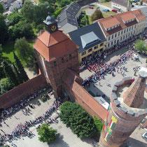 Luftbilder Bernau bei Berlin, Hussitenfest