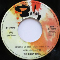 The Hairy Ones Barclay BLY 70898 1965 side 1
