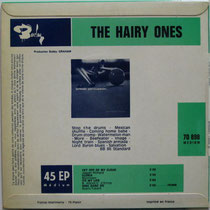 The Hairy Ones Barclay BLY 70898 1965 back