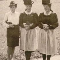 Geschwister Grill um 1950