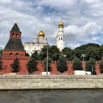 Moskau | Moskwa | «Rüstkammer-Turm» und «Kommandanten-Turm»