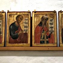 Gorizy | Kirillo-Beloserski-Kloster | Ikonen, die es uns besonders angetan haben.