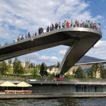 Moskau | Moskwa | Moderne Aussichts-Platform