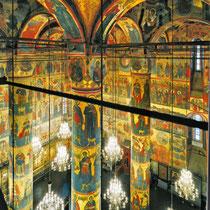 *Moskau | Kreml | «Maria Einschlafens-Kathedrale» | Interieur | 1475-1479