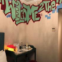 Boutique Hotel Pallas Athena: Unser Zimmer