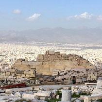 «Akropolis-Blick» auf Athen.