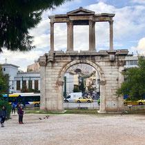 Ganz in der Nähe des «Temple of Zeus»: «Handrian's Arch»