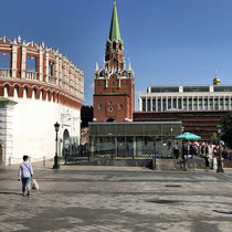 Moskau | Kreml | «Erlöserturm» | 1490er Jahre | Architekt Pietro Antonio Solari / Zeltdächer 17. Jh.