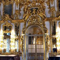 Puschkin | Katharinenpalast | Die Innenräume des Katharinenpalastes sind das Werk Rastrellis | Einige von ihnen wurden allerdings in späteren Jahren der jeweiligen Kunstauffassung angepasst.