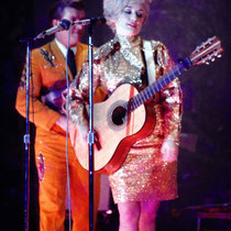 Dolly Parton with Porter Wagoner's Band at the KBER Radio Country Music Show, San Antonio, Texas, United States, 1967