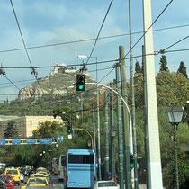 Der Lykabettus ist der Stadtberg Athens.  Mit seiner Höhe von 277 m ist er die höchste Erhebung im Stadtzentrum.