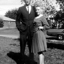 Dolly Parton and husband, Carl Dean. The pair married in 1966 and recently celebrated their 50th wedding anniversary!