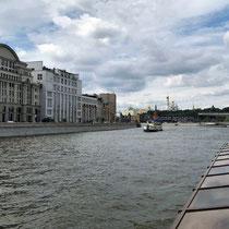 Moskau | Moskwa-Stimmungsbild