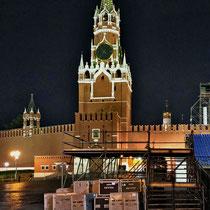 Moskau | «Roter Platz» | «Erlöser-Turm»