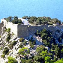 2013 | Monolithos | Die Byzantiner errichteten etwa 1,5 km südwestlich des heutigen Ortes eine Feste, die 1467 von den Johannitern erweitert und nie eingenommen wurde.