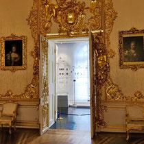Puschkin | Katharinenpalast | Früher war's ein Bediensteten-Raum | Für heutige Besucher «umgestaltet»