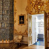 Puschkin | Katharinenpalast | Man beachte u.a. den wunderschönen Holzboden