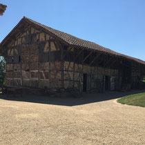 Courtes: Bäuerliches Heimatmuseum auf der 5. Etappe von Macon nach Louhans.
