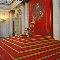 St. Petersburg | Eremitage | Grosser Thronsaal