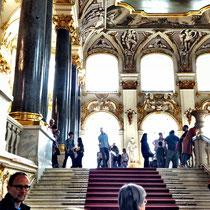 St. Petersburg | Eremitage | Aufgang zur «Jordanstreppe»