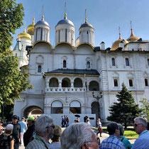 Moskau | Kreml | «Patriarchen-Palast» und «Zwölf-Apostel-Kirche» | 1642-1655 | Architekten Dawyd Ochlebinin, Anntip Konstantinow & A. Makejew