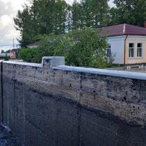 Mandrogi | Obere Svir Schleuse | 14 m Niveau-Unterschied.